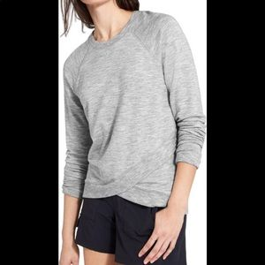Athleta | Criss Cross Sweatshirt